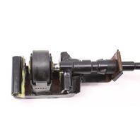LH Seat Center Slider Roller Bracket / Cable 99-05 Jetta Golf MK4 Beetle Passat