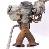 Solex Dual Carb 32-34 PDSIT-2/3 Carb Carburetor 1973 VW Bus - 021 129 031 N