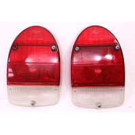 Tail Brake Light Lamp Set 71-72 VW Beetle - Genuine Hella