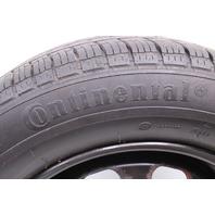 "Full Size Spare 15"" 5x100 Steel Wheel Rim Tire 99-05 VW Jetta Golf MK4 Genuine"
