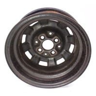 """13"""" x 4.5"""" Stock Steel Wheel Rim 4x100 75-84 VW Rabbit Jetta MK1 . 175 601 025 B"""
