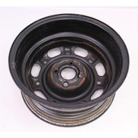 "14"" Steel Wheel Rim 90-93 VW Passat B3 4x100 - Genuine - 357 601 025 A/B"