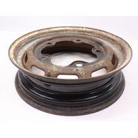 """4 x 15"""" Steel Wheel Rim 66-67 VW Bug Beetle Aircooled Wide 5 - Genuine"""