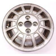 """13"""" Alloy Aluminum Wheel Rim 75-81 VW Scirocco MK1 - Genuine - 321 601 025 C"""