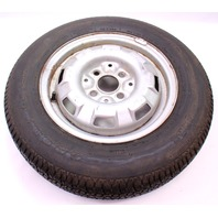 "13"" 4x100 Original Spare Wheel Rim & Tire VW Jetta Rabbit MK1 - Genuine"