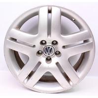"17"" Wheel Long Beach Alloy Rim 99-05 VW Jetta Golf GTI MK4 - 5x100 Stock"