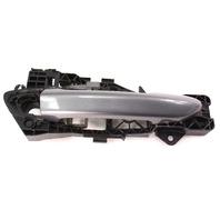 RH Exterior Door Handle 06-10 VW Passat B6 - LA7T - United Gray Metallic