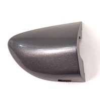 RH Exterior Door Handle Cap Trim 06-10 VW Passat B6 - LA7T Gray - 3C0 837 880