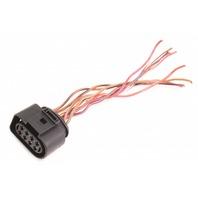 8 Pin Wiring Plug Pigtail Connector 06-10 VW Passat B6 Audi - 8D0 973 734