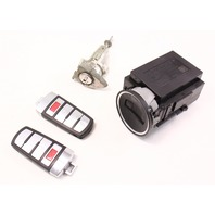 Ignition Lock Set & Key Fob Remote 06-10 VW Passat B6 - Genuine - 3C0 905 843 P