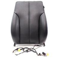 Driver Front Black Vinyl Seat Back Rest Air Bag 06-10 VW Passat B6 - Genuine