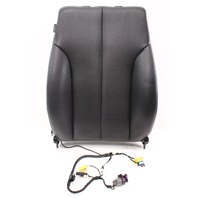 RH Front Black Vinyl Seat Back Rest Air Bag 06-10 VW Passat B6 - Genuine