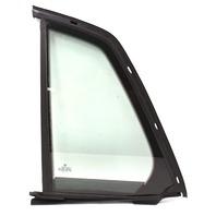 LH Rear Small Quarter Door Side Window Glass 04-06 VW Phaeton - Genuine