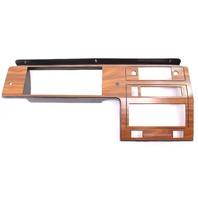 Wood Dash Radio Surround Trim Panel 81-84 VW Rabbit Pickup MK1 - 175 857 061