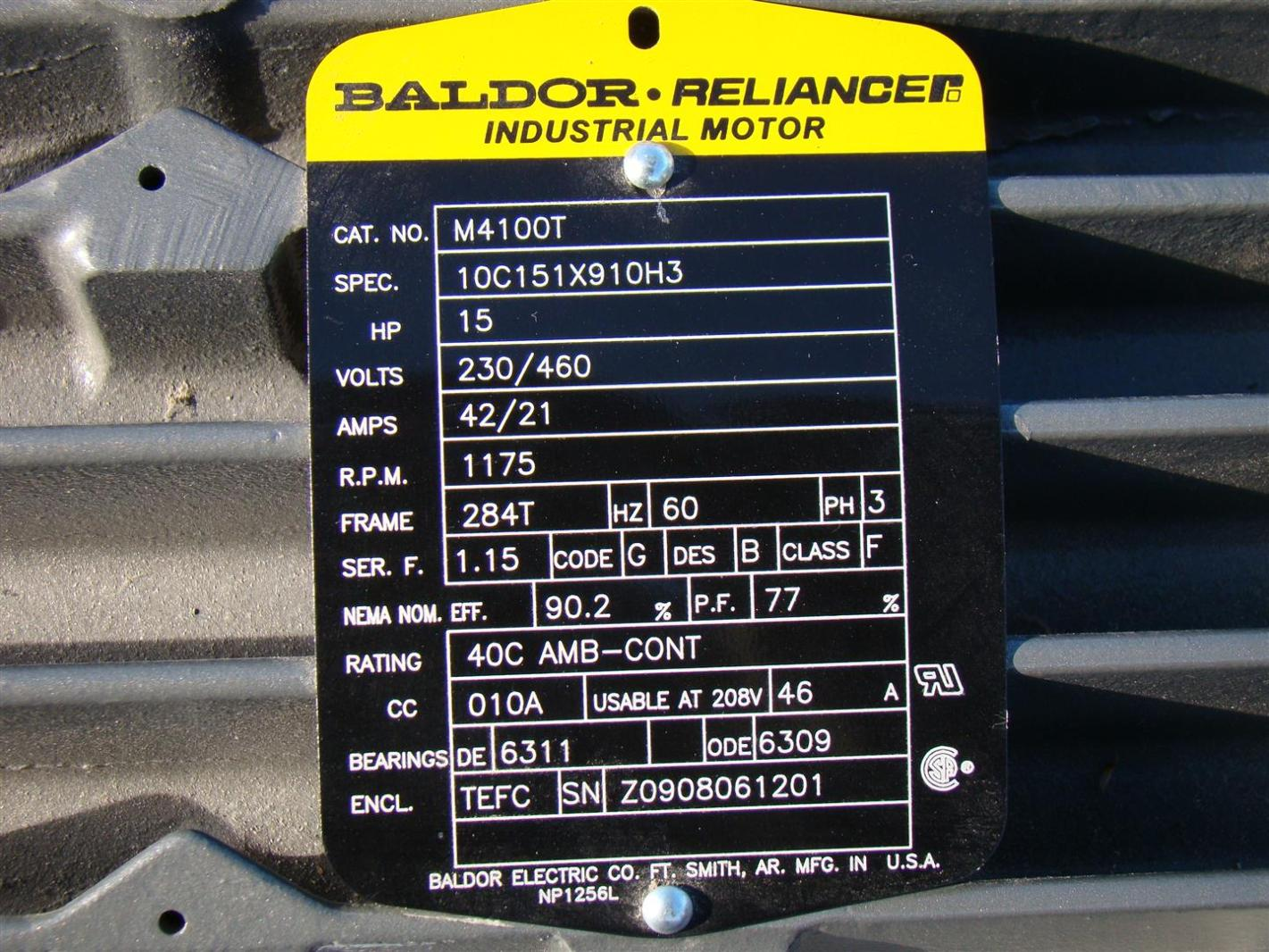 Baldor Parts Diagram Trusted Wiring 10 Hp Motor Reliance Reducers