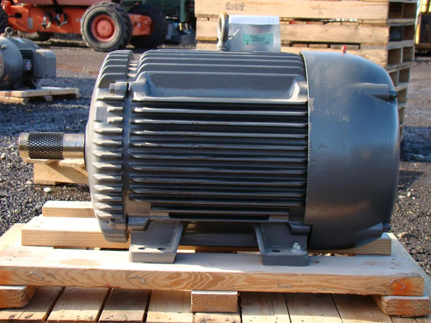 Baldor Industrial Electric Motor 30hp 460v 1760 870rpm