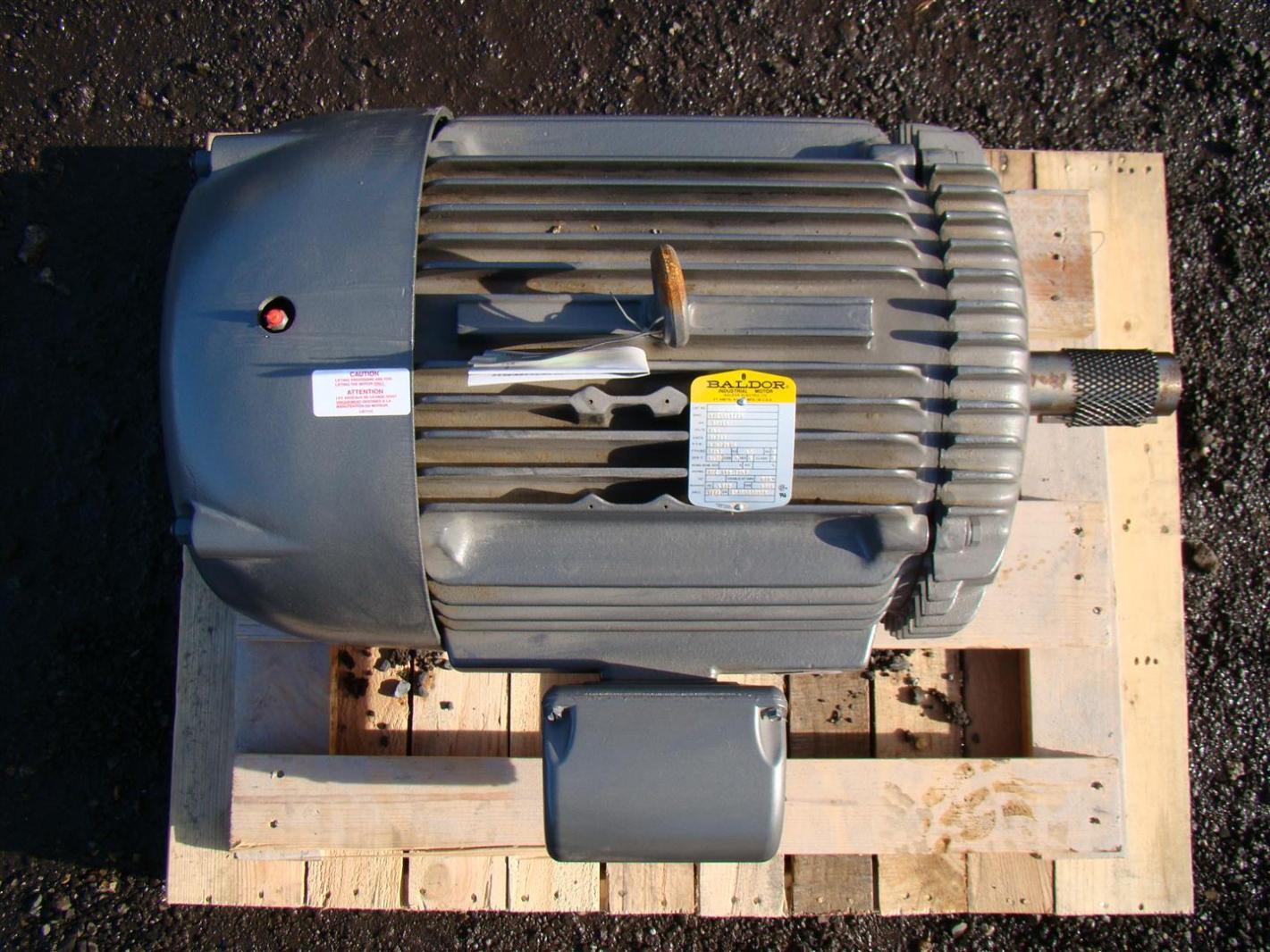 Baldor Industrial Electric Motor 30hp 460v 1760 870rpm