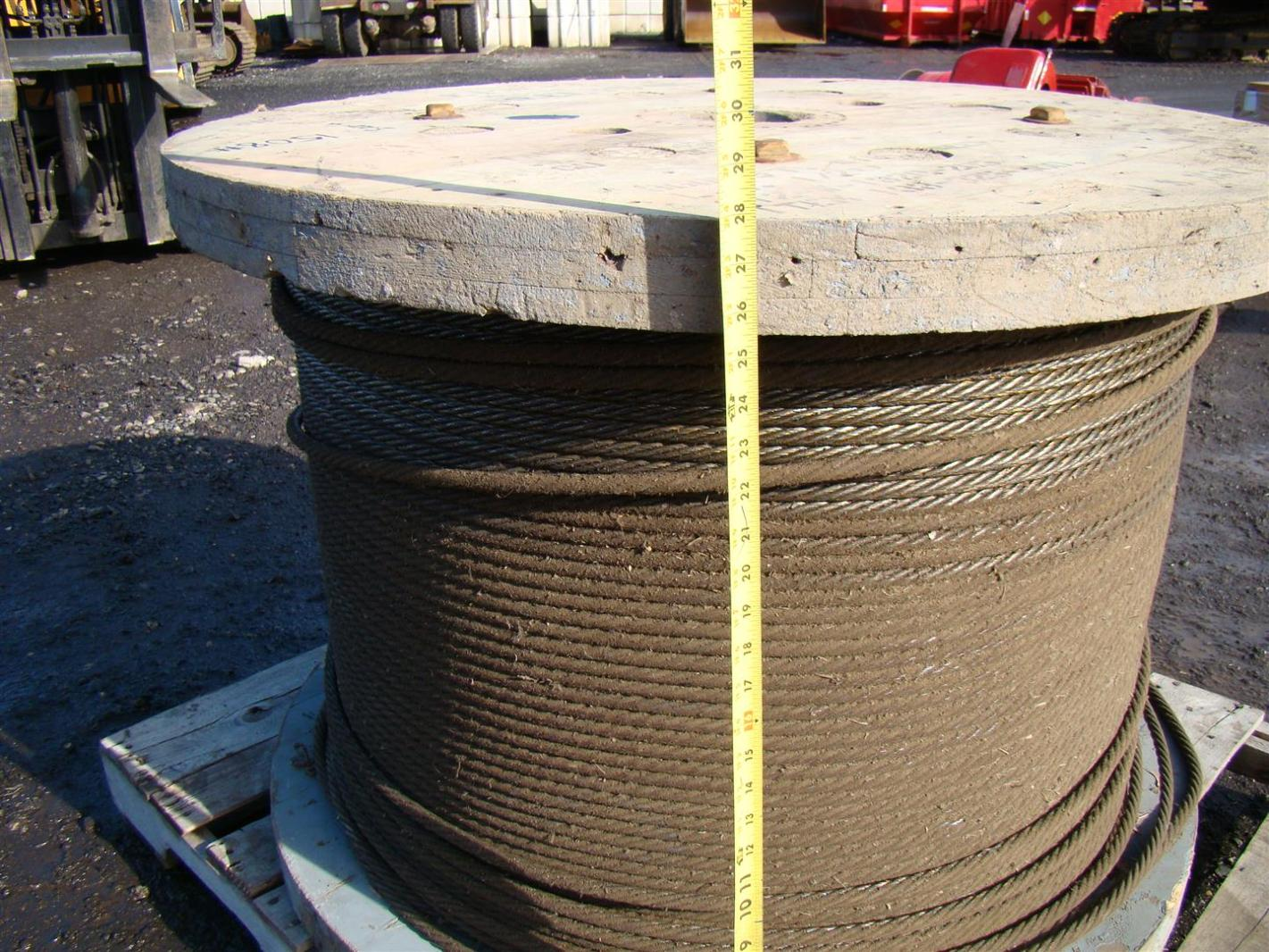 Steel wire rope cable reel quot si w ebay