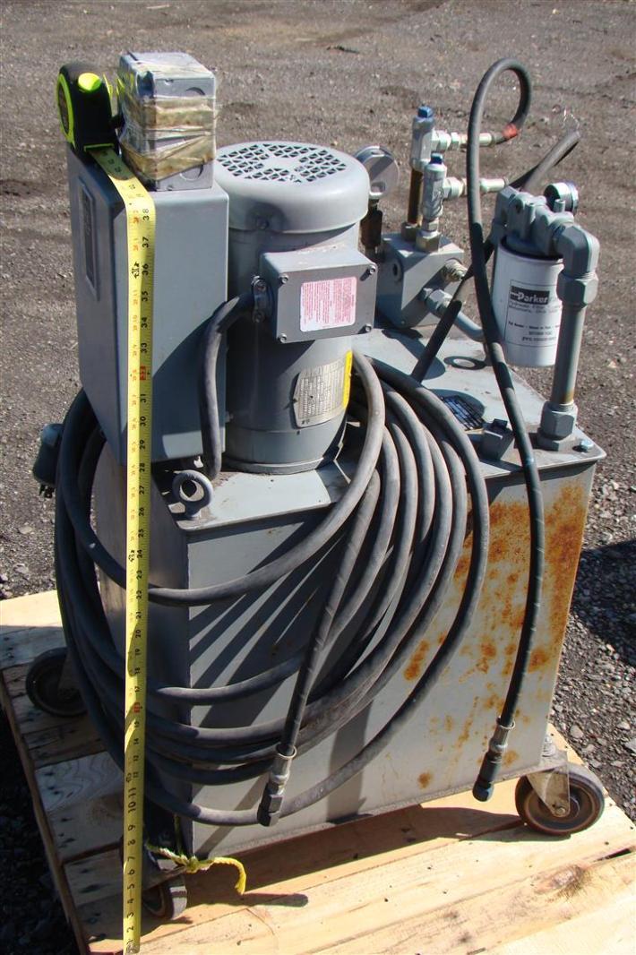 Parker v pak hydraulic pump motor division 750psi 20gal for Parker pumps and motors
