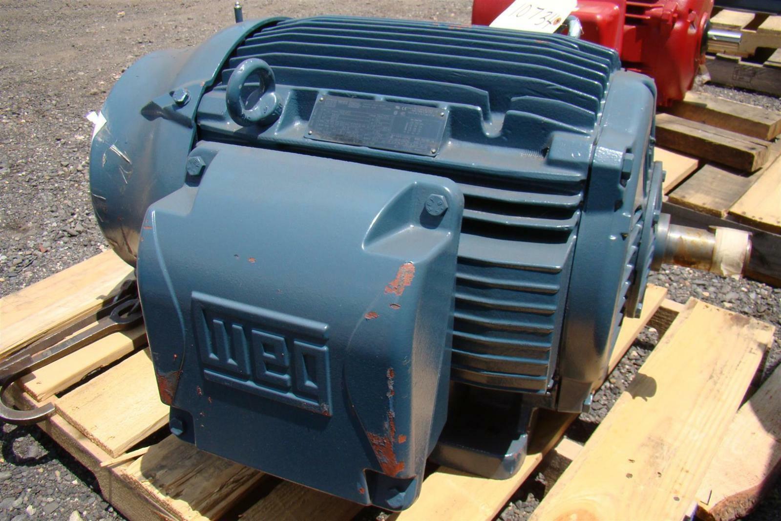 Weg w22 nema premium 60ho electric motor ph3 380v 80a for Electric motor rebuilders near me