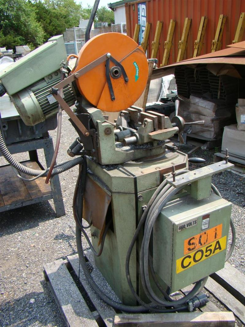 Scotchman Cold Saw H100lc4ve S1870 Hp5 5 5 460v 350lt