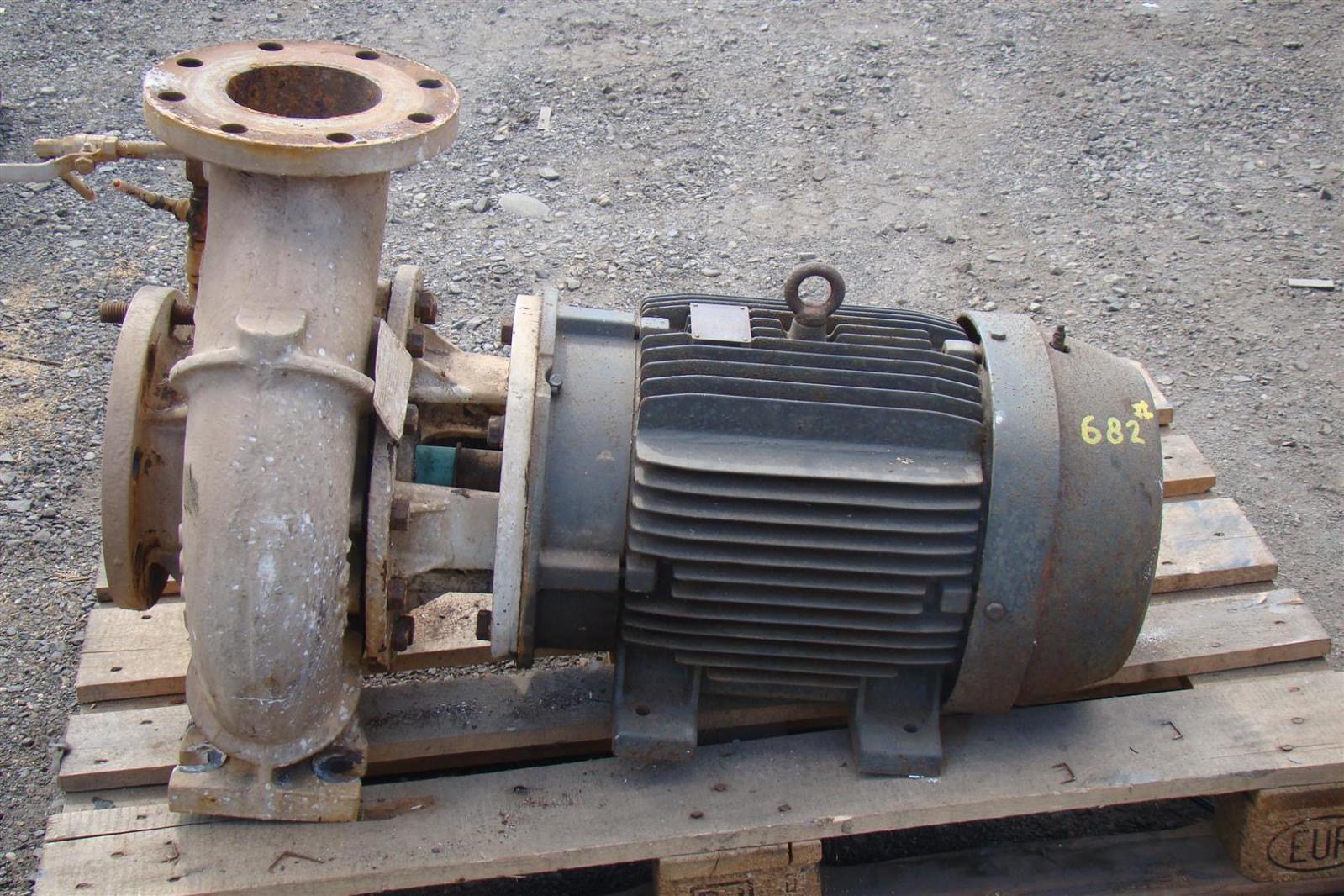 5 Centrifugal Pump Weg 25hp Motor 1765rpm 0513086