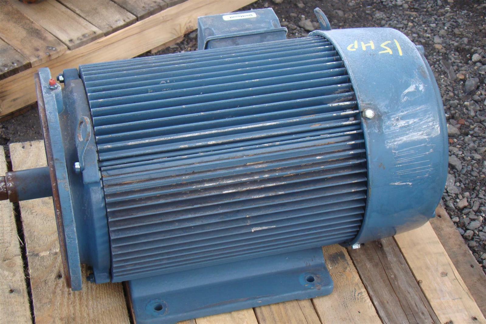 Emerson Motor 3 Phase 25 Hp 1770rpm 208 230 460v Ebay