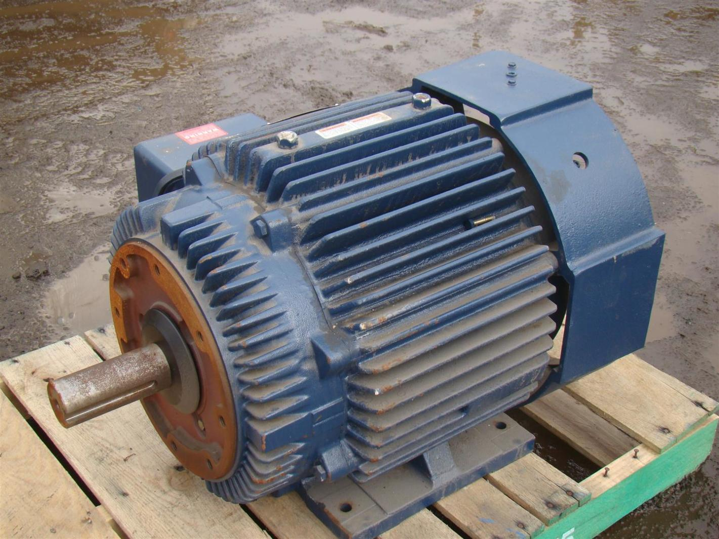 Blue Max Motor 60hp 60 Hz 4 Pole 230 460v 3000rpm