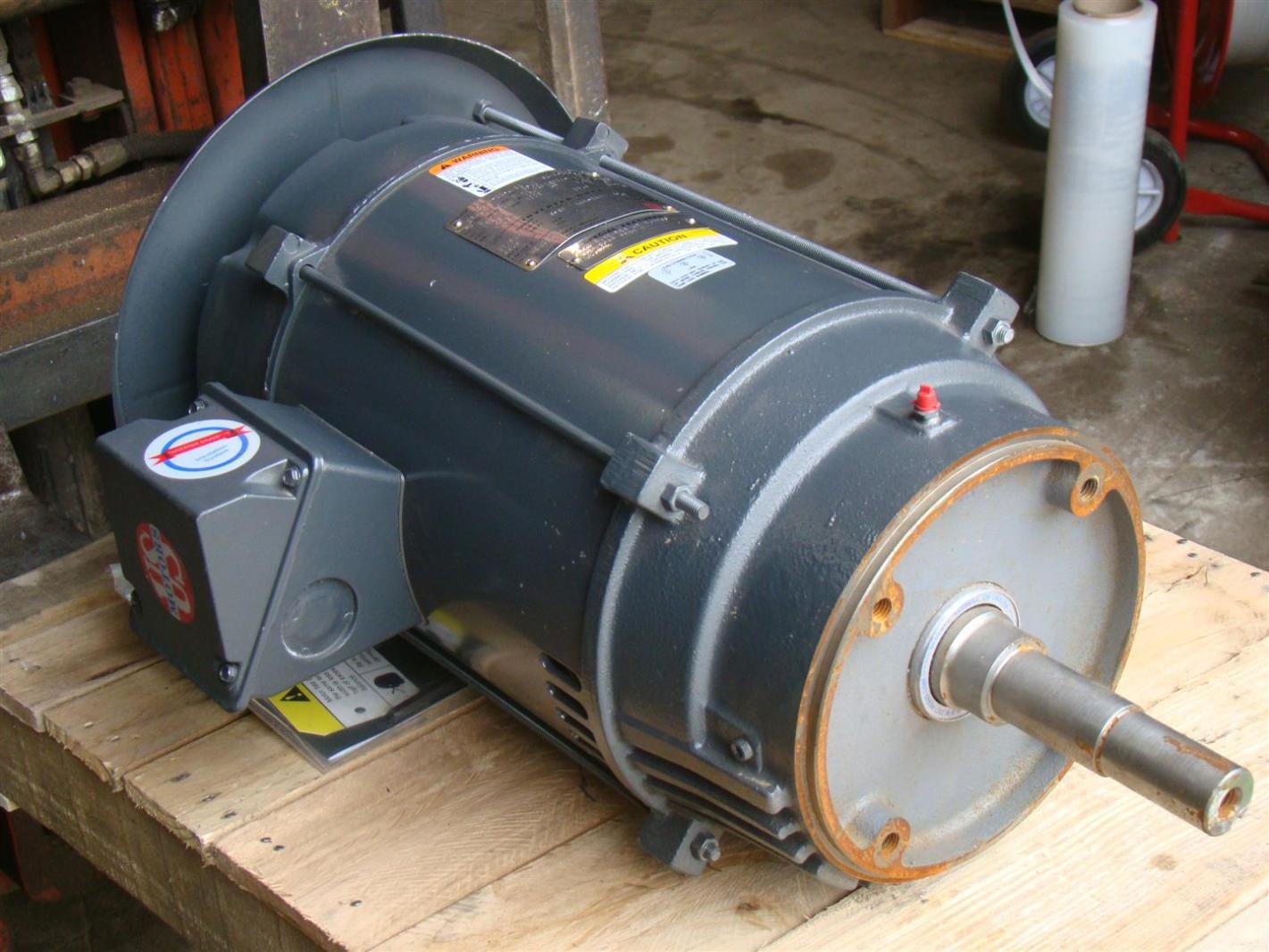 Us Motors Nidec 3 Phase Electric Motor Inverter Duty 15 Hp