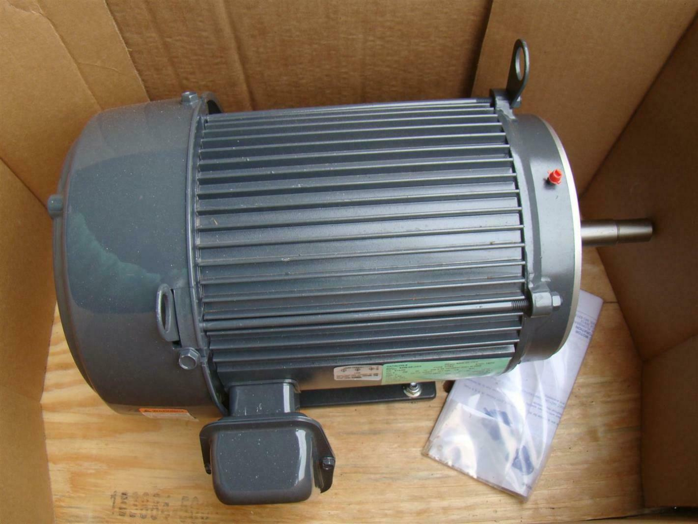 Us motors nidec 3 phase electric motor 7 5 hp 2905 rpm for 7 5 hp 3 phase motor