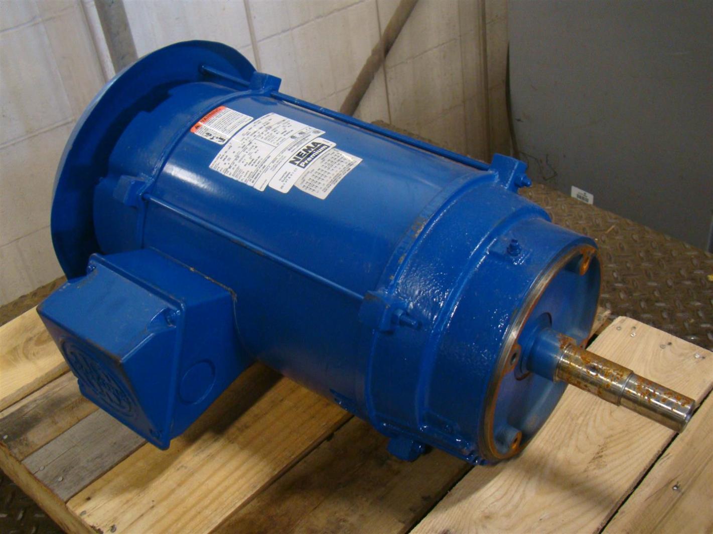 Us Motors Nidec 3 Phase Electric Motor 20 Hp Inverter Duty