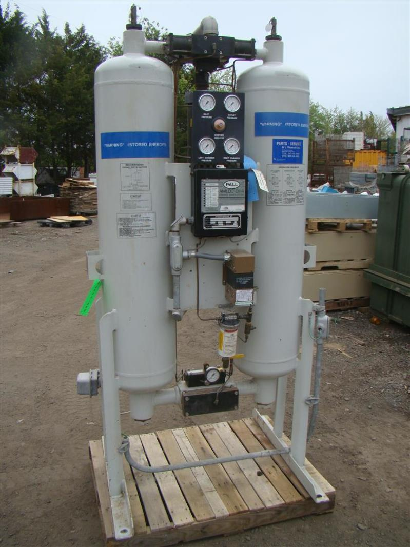 Pall Dha Series Heat Less Desiccant Compressed Air Dryer
