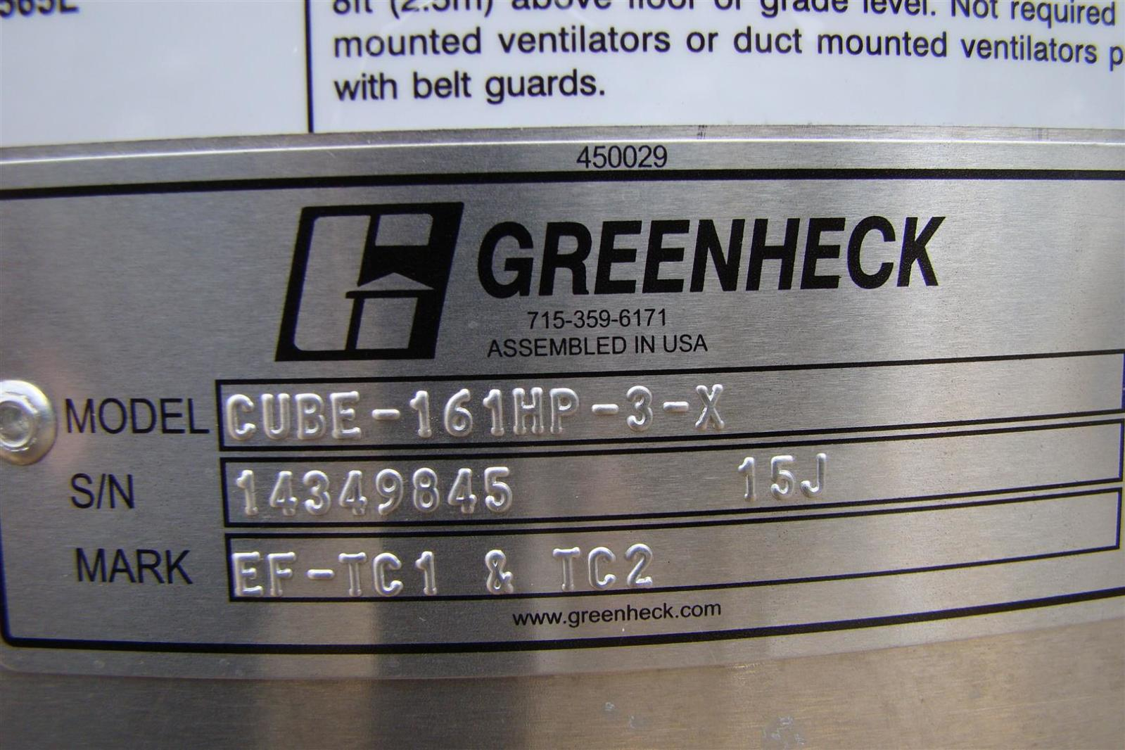 Greenheck Roof Ventilator Inline And Ceiling Fans Sc 1 St