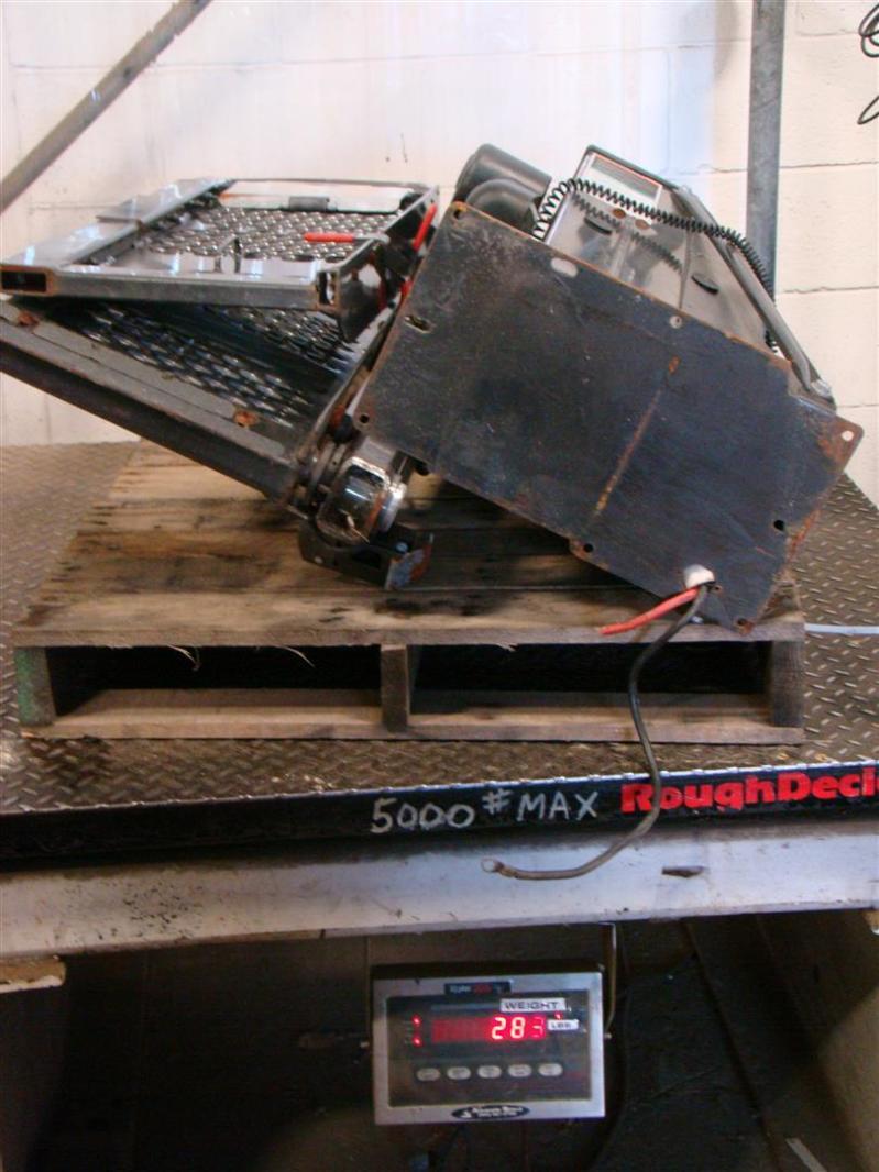 Braun Mini Vangater Under Vehicle Wheelchair Lift 7688laff