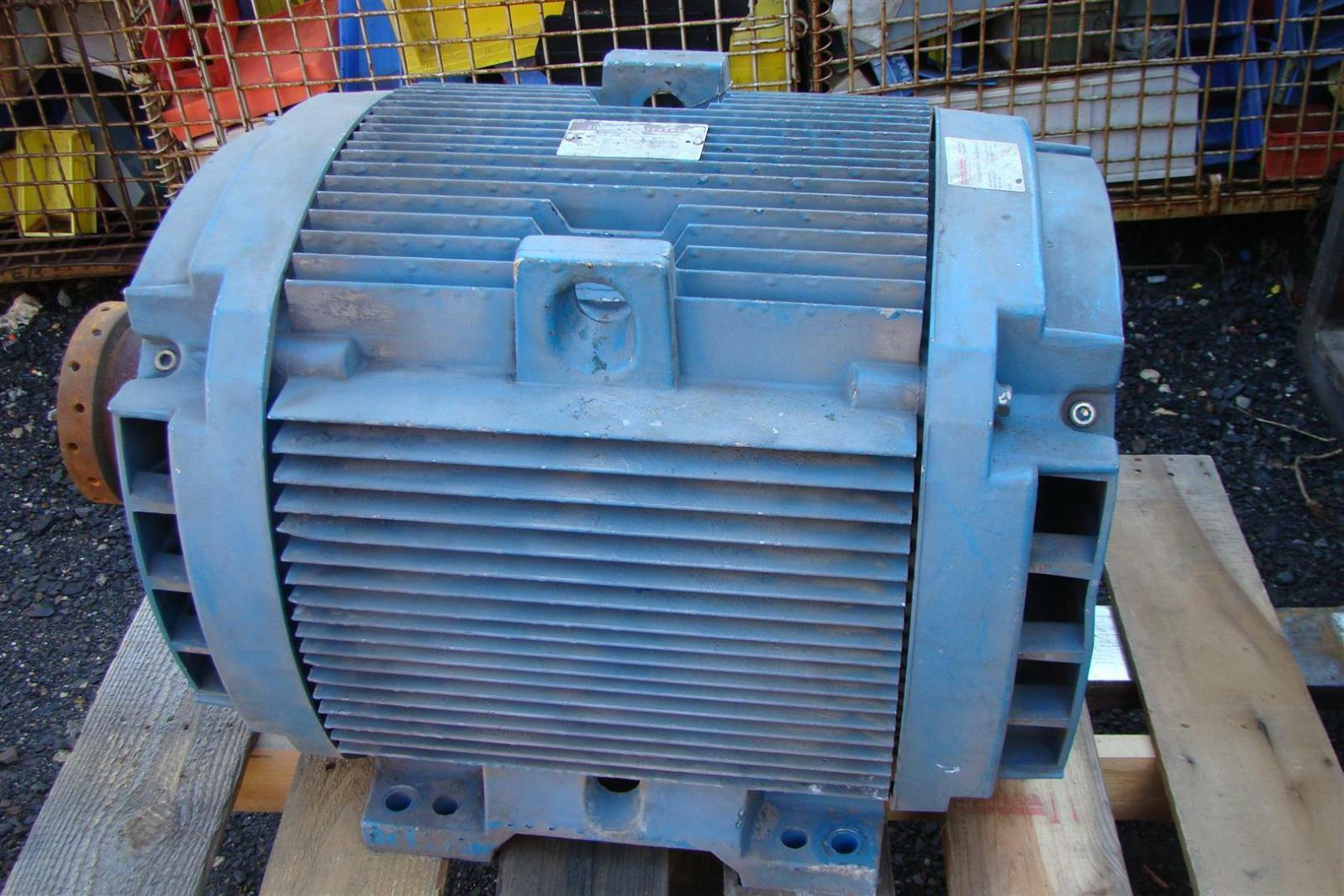 General electric 100hp 3 phase 230 460 volt electric motor for Ge commercial motors 5kcp39fg