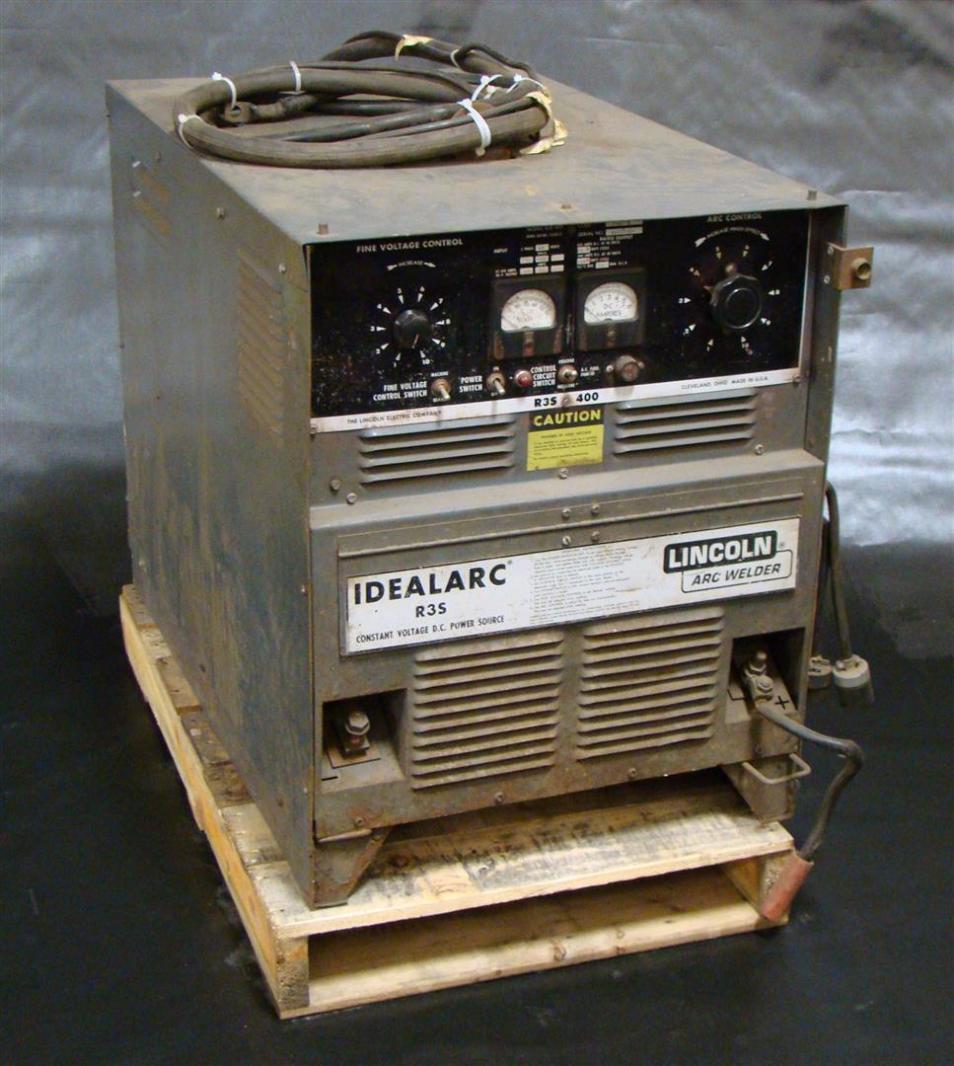 lincoln idealarc r3s mig arc welder 230 460 volt 3 phase. Black Bedroom Furniture Sets. Home Design Ideas