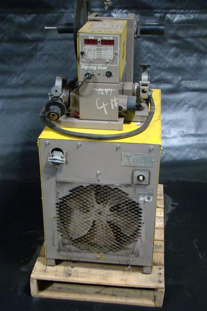 esab 3 phase mig welder 230 460 volt with digimig dual