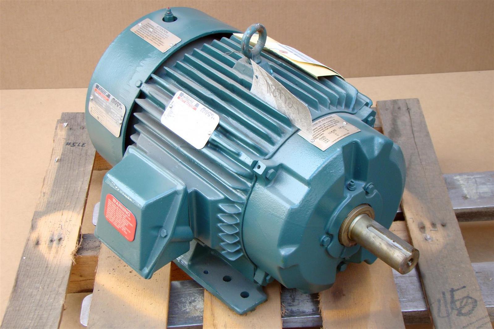 Reliance Electric Ac Motor 841xl 20hp 460v 3ph 1765rpm