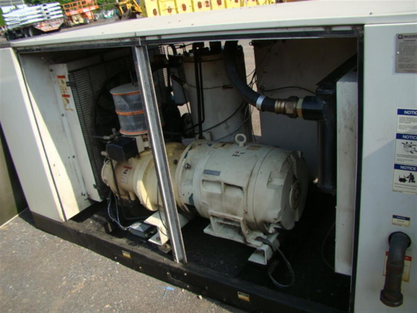 ... Ingersoll Rand Rotary Screw 75HP Air Compressor 332CFM SSR-EP75
