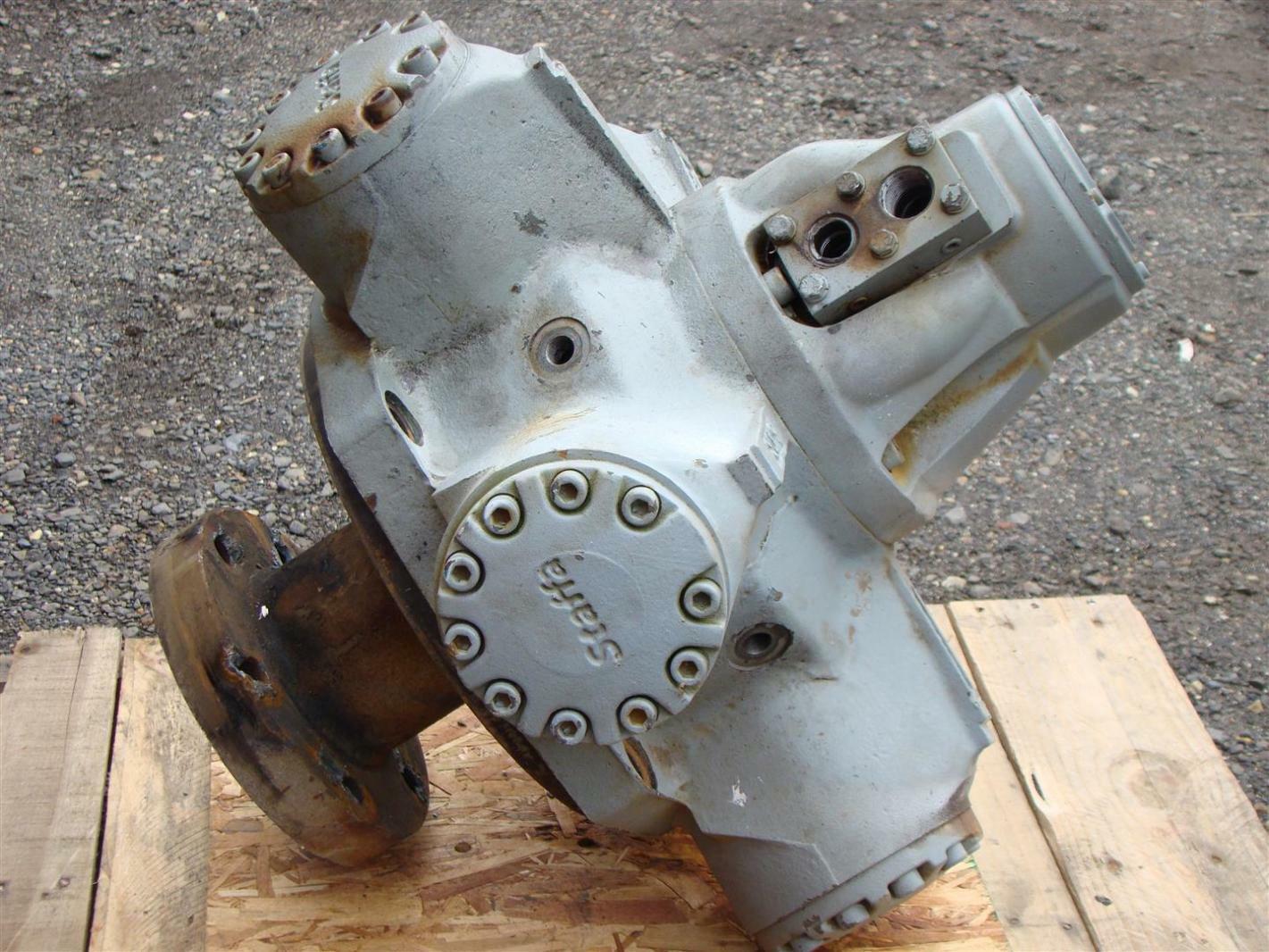 Staffa Hydraulic Motor Hmb200t11 K87pm 0383 Joseph