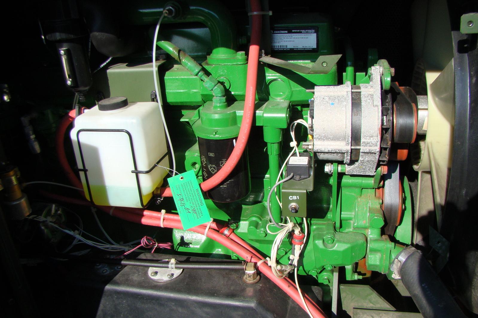 John Deere 60 Generator : Kw diesel generator phase l john deere