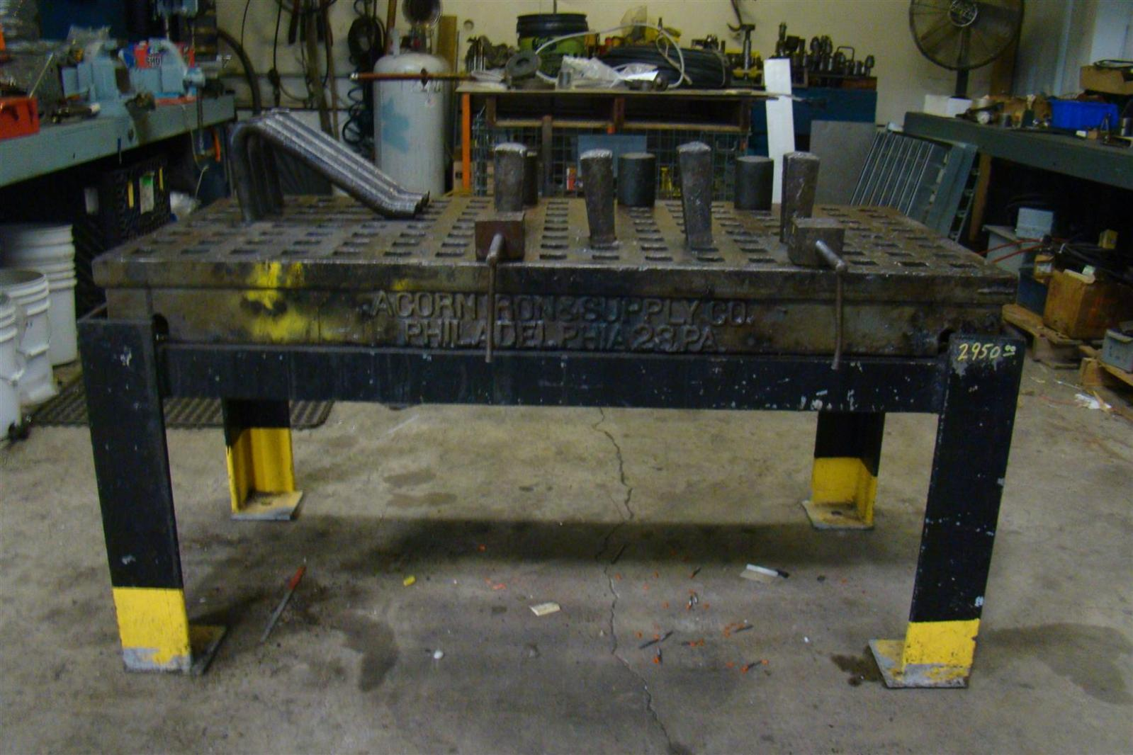 Acorn Welding Platen Layout Table 60 Quot X 30 Quot Custom Stand