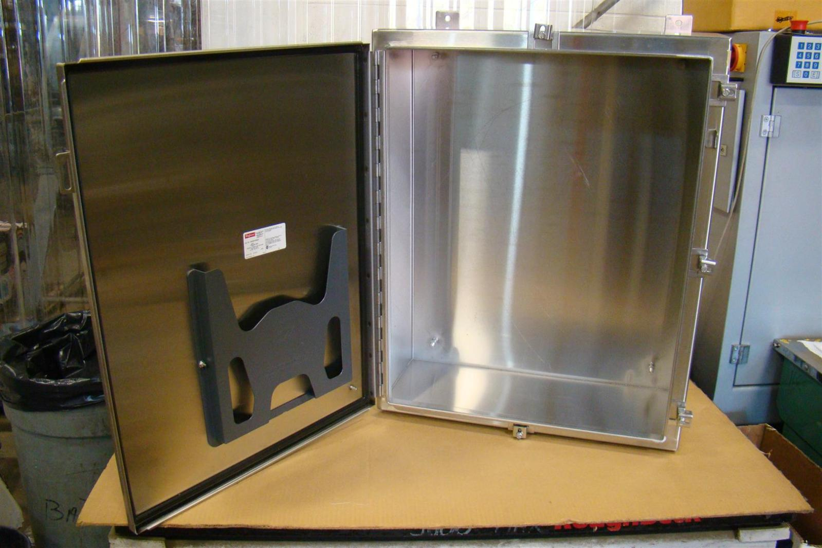 Stainless Hoffman Industrial Control Panel Enclosure