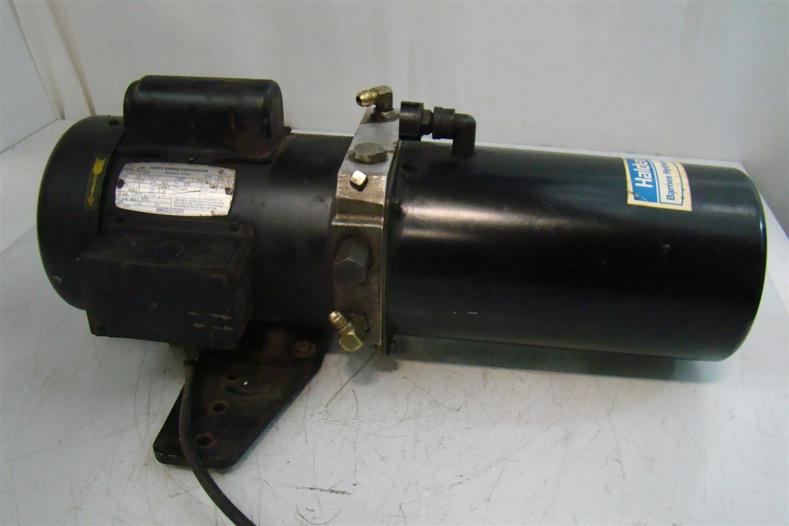 Hydraulic Pump John S Barnes Parts Waltco Wiring Diagram Pictures