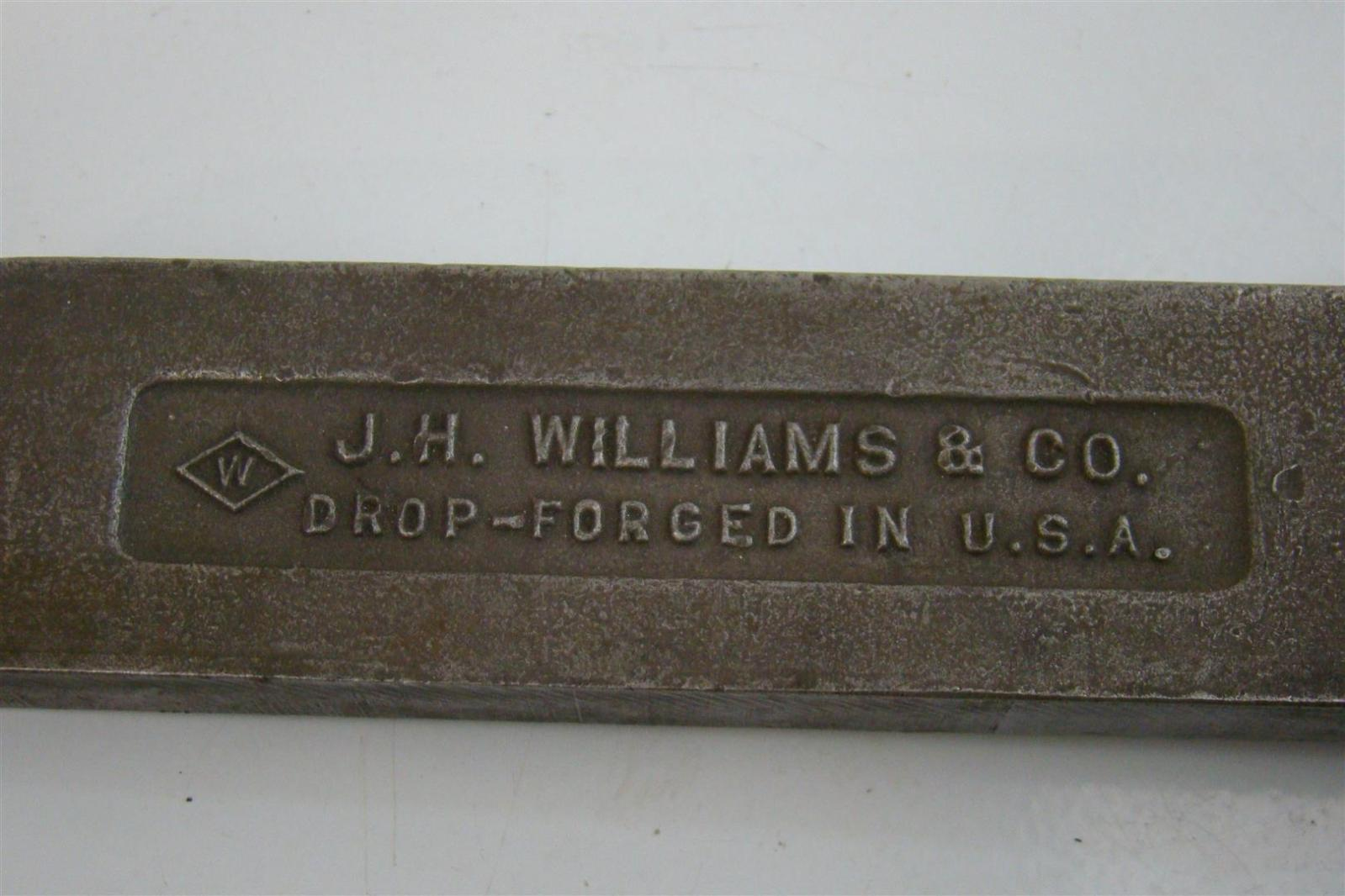 williams machine and tool model w