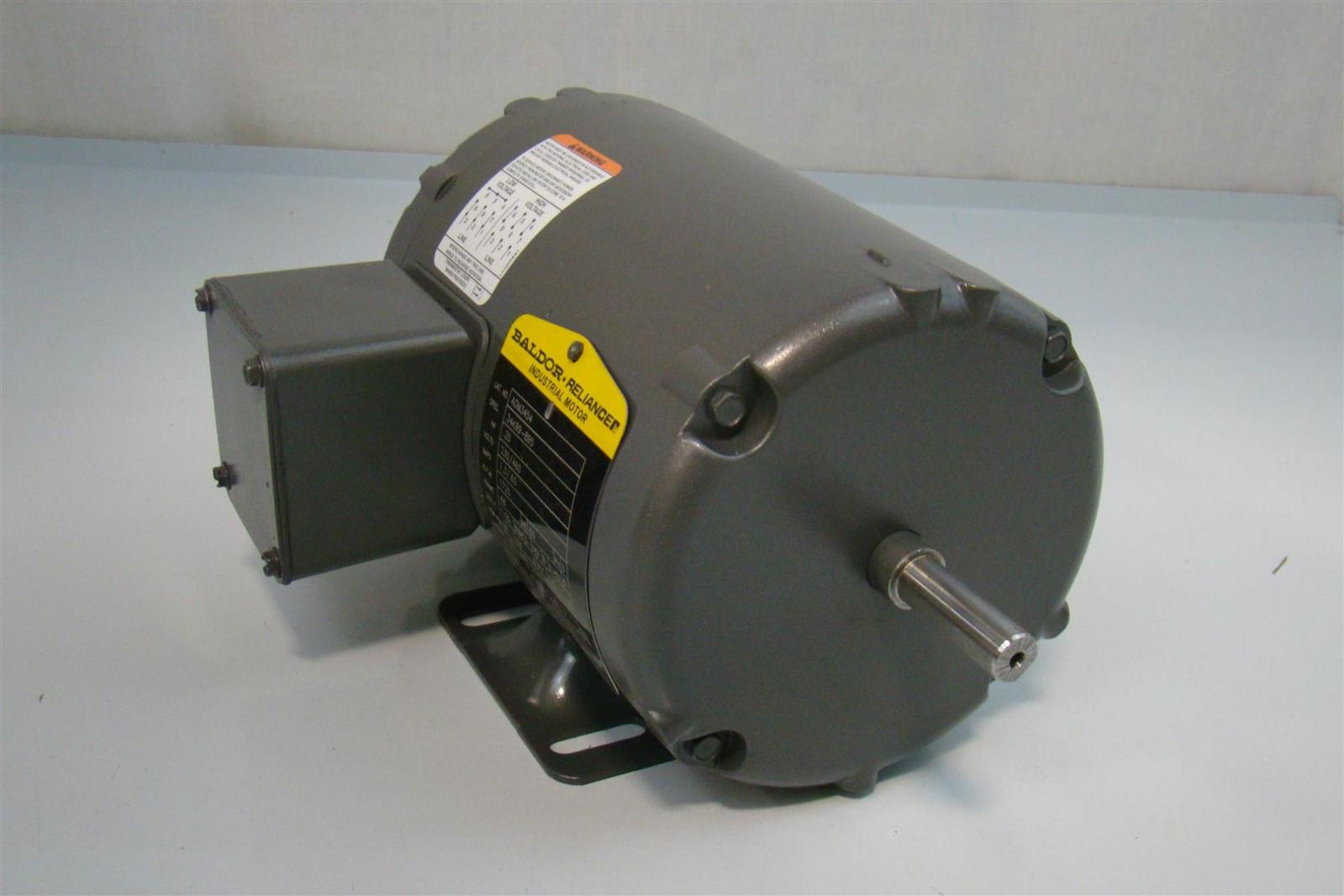 Baldor Reliance Industrial Motor 25hp 1 3 65amps 1725rpm
