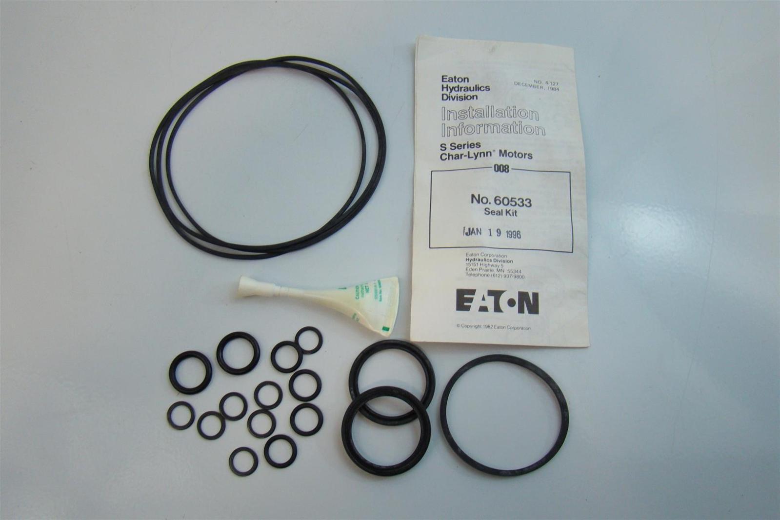 eaton hydraulics division char lynn motors seal kit 60533