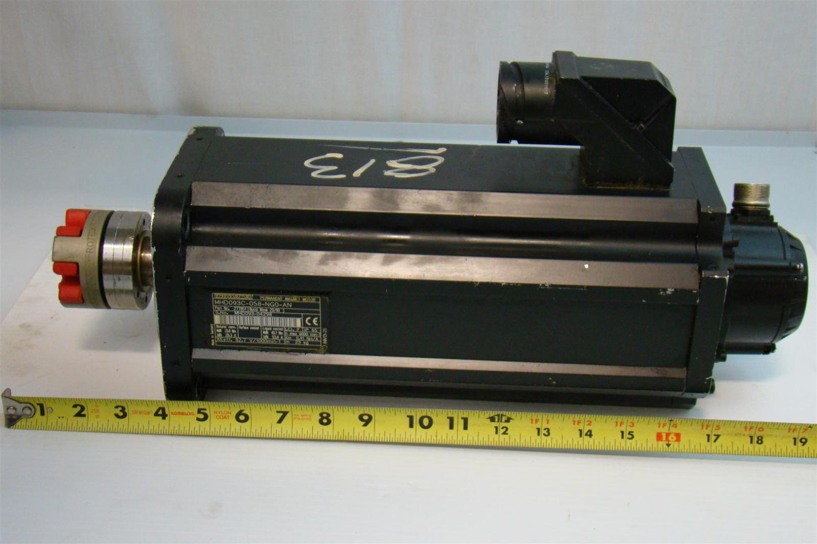Indramat Permanent Magnet Motor Mhd093 04298 277851