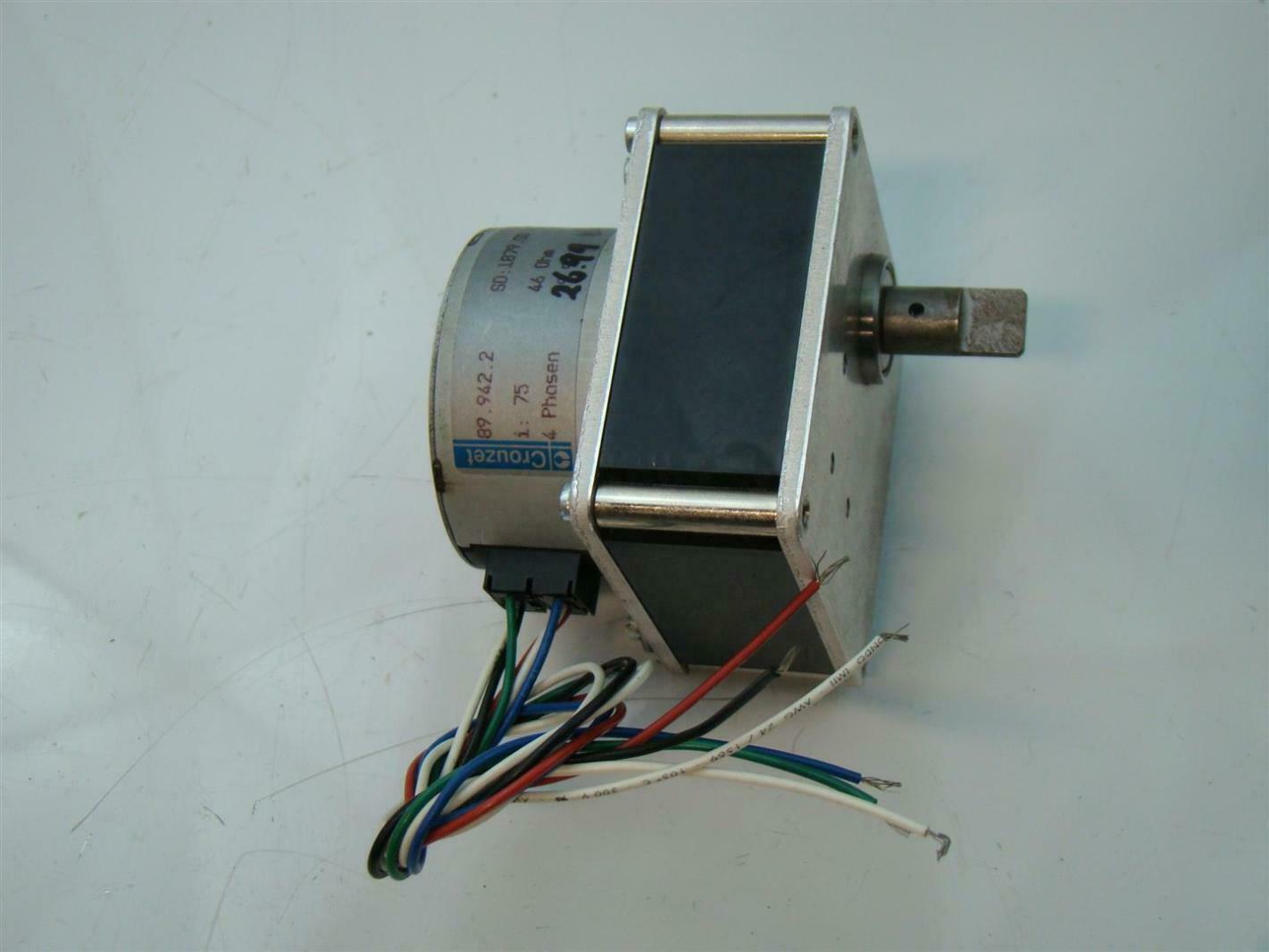 Crouzet Gear Motor 9252 0065 75 1 25 99 Joseph Fazzio