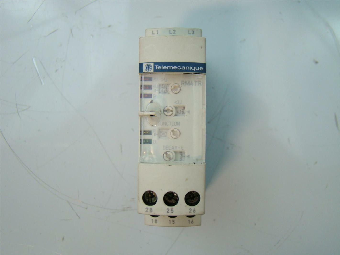 Telemecanique 8a 250v 50 60hz Rm4tr32 Ebay
